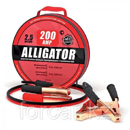 Провода «прикуривания» аккумуляторной батареи «Alligator» 200 А, фото 2
