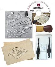 Набор резчицкий Beginner 2-Blade Craft Carver Set (2 полотна, рукоять, 2 заготовки, DVD)