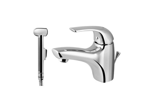 Смеситель для умывальника с гигиеническим душем  AM-PM  Sense F7503000