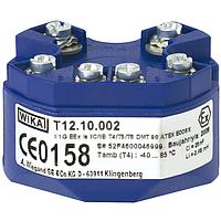 Модель T12 цифровой преобразователь температуры WIKA