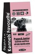 Сухой корм для щенков и юниоров Kennels' Favourite Puppy & Junior Solomon and Rice лосось с рисом