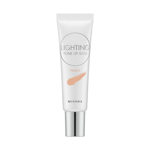 Осветляющая база под макияж Lighting Tone Up Base SPF30 PA++(Peach)