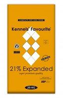 Сухой корм для собак ведущих умеренный образ жизни Kennels' Favourite 21 % Expanded