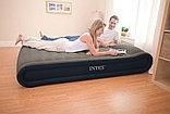 Кровать надувная двуспальная со встроенным насосом 152Х203Х41см Intex 67726, фото 2