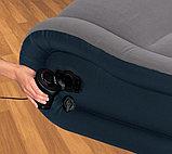 Кровать надувная двуспальная со встроенным насосом 152Х203Х41см Intex 67726, фото 3