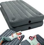 Надувная кровать Intex 2 в 1  67743, фото 3