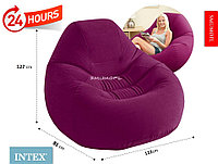 Надувное кресло Intex Deluxe Velvet Chair 68584, фото 1