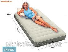 Надувной односпальный матрас Intex 64701 (99*191*25 см.)