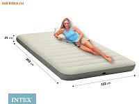 INTEX Матрас Deluxe 152х203х25см 64703