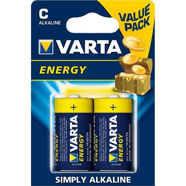 Батарейка LR14 Varta Energy  типоразмер С