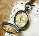 "Часы кулон ""Карта"", фото 2"