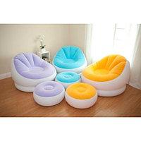 Надувное кресло c пуфиком Intex Cafe Chaise Chair арт. 68572