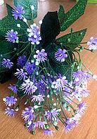 Букетик фиолетовых полевых цветов (искусственный), фото 1