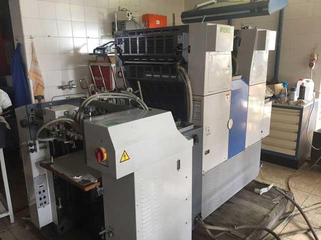 Ryobi 512H б/у 1999г - 2-х красочная печатная машина