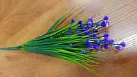 Травка с фиолетовыми цветочками (искусственная), фото 1