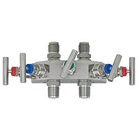 Модель 910.25 вентиль выравнивания давления (манифольд) WIKA