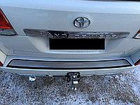 Хром на бампер задний LС 200 (накладка)