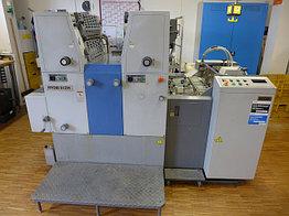Ryobi 512H б.у 2000г - печатная машина, двухкраска