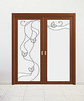 Витражи для межкомнатных дверей, D-7