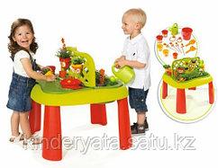 Smoby Стол игровой для песка и воды Маленький садовник