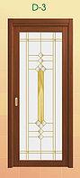 Витражи для межкомнатных дверей, D-3