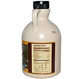 Кленовый сироп органический, класс А, средний янтарный, 946 мл. Now Foods, Real Food, фото 2