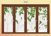 Витражи для межкомнатных дверей, D-61