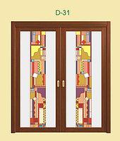 Витражи для межкомнатных дверей, D-31