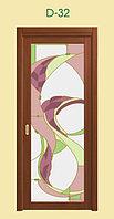 Витражи для межкомнатных дверей, D-32
