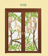 Витражи для межкомнатных дверей, D-53