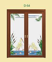 Витражи для межкомнатных дверей, D-54