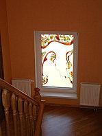 Витражи в окнах, O-27