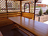 Беседка деревянная 3х4м, фото 3