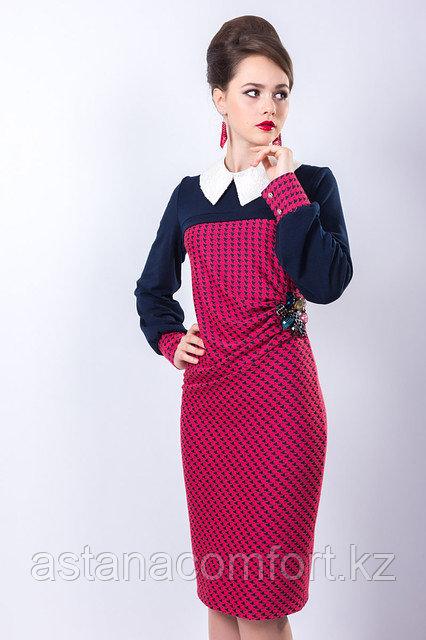 Стильное деловое платья полуприлегающего силуэта, 52 и 54 р.