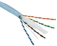 Кабель «витая пара» (LAN) для структурированных систем связи Hyperline UUTP4-C6-S23-IN-LSZH-OR-305 (UTP4-C6-SOLID-LSZH-OR-305)