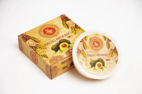 Авокадо, косметическое масло-баттер, 100 гр
