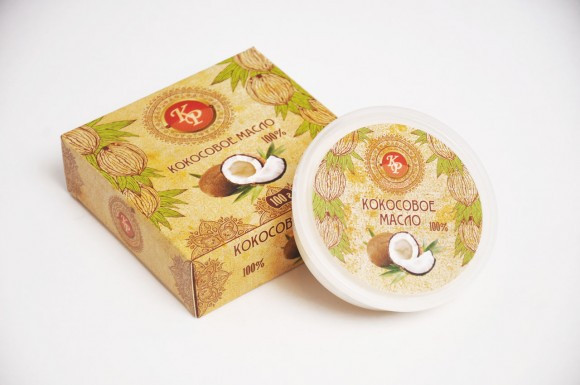 Кокос, косметическое масло-баттер, 100 гр