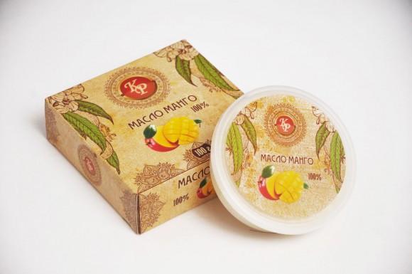 Манго, косметическое масло-баттер, 100 гр