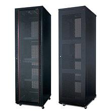 SHIP 601S.6242.24.100 Шкаф серверный 124 серия, 19'' 42U, 600*1200*2000 мм, Ш*Г*В, IP20, Чёрный