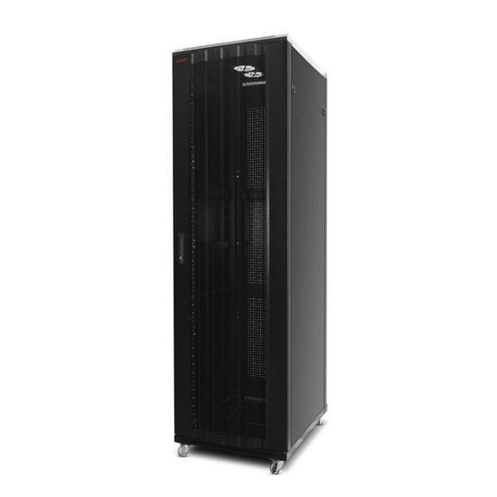 SHIP 601S.6824.54.100 Шкаф серверный 154 серия, 19'' 24U, 600*800*1200 мм, Ш*Г*В, IP20, Чёрный