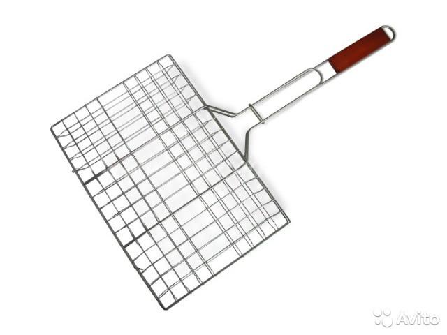Решетка для гриля и барбекю 25см*35см*56см