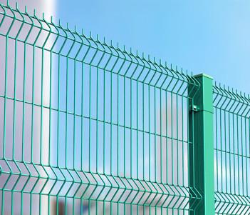 Металлические заборы и ограждения. Модель Medium 3D