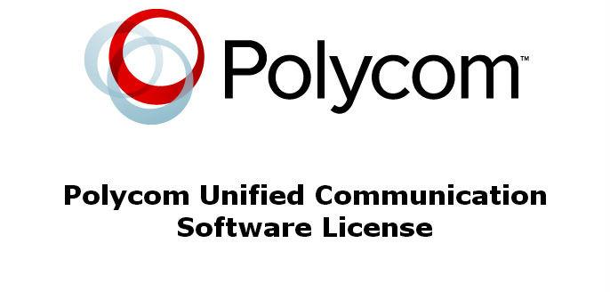 Polycom Unified Communication Software License (SfB/Lync)