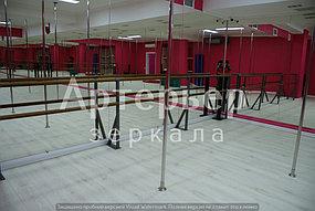 Зеркало настенное в хореографический зал. Установка. Монтаж. Гарантия 1 год.  5