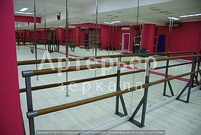 Зеркало настенное в хореографический зал. Установка. Монтаж. Гарантия 1 год.  1