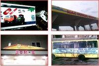 Брендирование автотранспорта и изготовление объемных букв