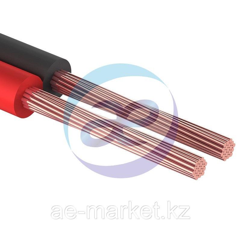 Кабель акустический, 2х0.75 мм², красно-черный, 100 м.  PROCONNECT