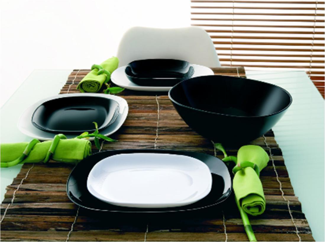 Столовый сервиз Luminarc sweet line white&black 19 предметов