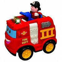 Музыкальная пожарная машина с подсветкой