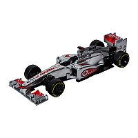 Машина Формула-1 металл. в пластиковом диспенсере 1:32